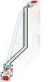 Quadro S-6000 PVC profil